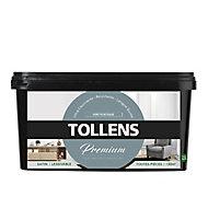 Peinture Tollens premium murs, boiseries et radiateurs vert poétique satin 2,5L