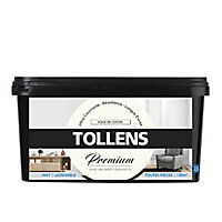 Peinture Tollens premium murs, boiseries et radiateurs voile de coton mat 2,5L