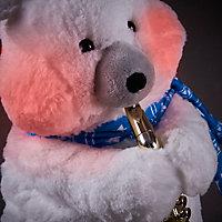 Peluche animée ours saxophone