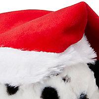 Peluchee animéee chien noël