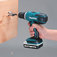 Perceuse à percussion Makita HP457DWE 18V - 2x1.3Ah + 1x1.5Ah