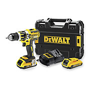 Perceuse à percussion sans fil brushless DeWalt DCD795D2 18V - 2Ah