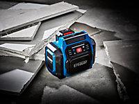 Perceuse à percussion sans fil brushless Erbauer ECD18-Li-2 18V - 2x4Ah + enceinte Bluetooth