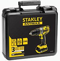 Perceuse à percussion sans fil Stanley Fatmax FMC626D2K18V - 2Ah