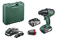 Perceuse-visseuse à percussion sans-fil Bosch AdvancedImpact 18 2 batteries 2,5Ah