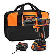 Perceuse visseuse sans fil Black&Decker BCD600C1S 10.8V - 1,5Ah