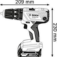 Perceuse visseuse sans fil Bosch Professional GSB 18V - 2 Ah
