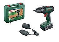 Perceuse-visseuse sans-fil Bosch UniversalDrill 18, 1 batterie 1,5Ah coffret