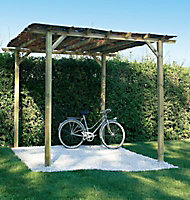 Pergola double poteaux Foreststyle Ancolie