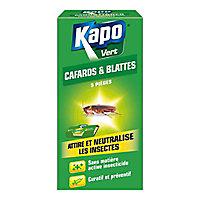 Pièges à cafards et blattes Kapo vert (x 5)