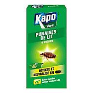 Pièges à punaises de lit Kapo vert (x 5)
