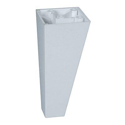 Pied De Meuble Triangulaire 100 Mm Blanc Castorama