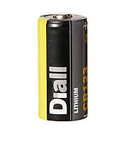 Pile au lithium CR123 Diall