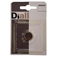 Pile CR2032 Diall