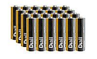Pile Diall AA - LR06 - lot de 8 + 4 gratuites