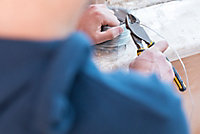 Pince coupante d'électricien diagonale Stanley Fatmax 200 mm
