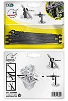 Piquets de maintien extra pour tuyau 4x6mm ou goutteur en ligne réglable extra (10 pièces)