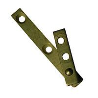 Pivot pour armoire acier laitonné 70 mm