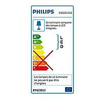 Plafonnier 2 spots PHILIPS Cypress chromés
