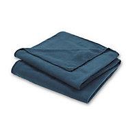 Plaid bleu 120 x 170 cm