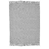 Plaid Blooma Rural 130 x 170 cm gris