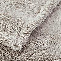 Plaid GoodHome Takeo naturel 160 x 200 cm