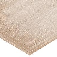 Plan de toilette Cavado chêne 150 cm