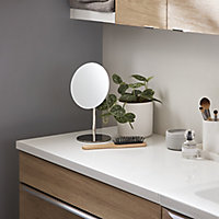 Plan de toilette Marloes blanc 100 cm GoodHome
