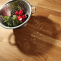 Plan de travail bois chêne massif 250 x 65 ép.38 mm