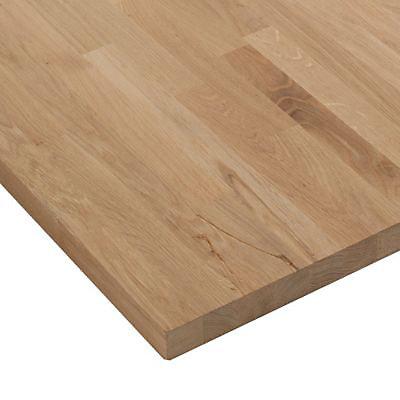plan de travail bois chene massif 250 x 65 ep 38 mm
