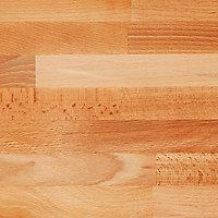 Plan de travail en hêtre massif GoodHome Hinita 260 cm x 62 cm x ép. 4 cm