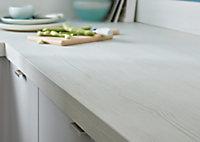 Plan de travail en stratifié aspect bois blanchi GoodHome Kala 300 cm x 62 cm x ép. 3.8 cm