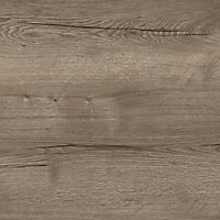 Plan de travail en stratifié aspect chêne cendré 240 cm x 62 cm ép. 3,8 cm