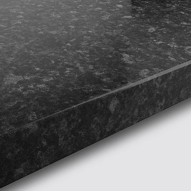 Plan De Travail Stratifie Aspect Bois Decor Noyer Fonce Hydrofuge 208 X 65 Cm Ep 30 Mm Vendu A La Piece Castorama