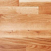 Plan snack en chêne massif GoodHome Hinita 180 cm x 62 cm x ép. 4 cm