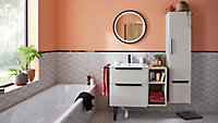 Plan vasque en résine blanc Urban 60 cm