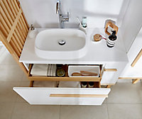 Plan vasque résine GoodHome Ceara 100cm