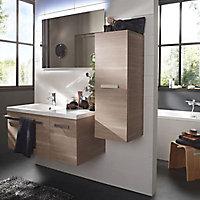 Plan vasque résine version droite Cooke & Lewis Belice 105 cm