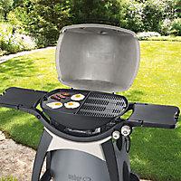Plancha en fonte pour barbecue gaz Weber Q300 et Q3000