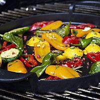 Plancha en fonte Weber Gourmet pour barbecue charbon de bois