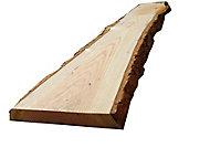 Planche de sapin/douglas 200x40/48 ép. 45 mm avec écorce