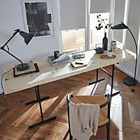 Planche de sapin/douglas 200x50/60cm ép. 40 mm 1 bord droit/ 1 bord naturel