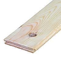 Plancher en pin Western déclassé noueux 200 x 18 cm, ép.21 mm
