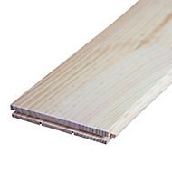Plancher pin maritime noeux 140 x 21 mm L.2 m