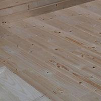 Plancher pour abri bois Volga 9,08 m² ép.28 mm