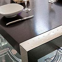Plaque adhésive aluminium relief carré 100 x 65 cm