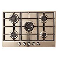 Plaque de cuisson au gaz CLGASFSRP5, 5 foyers