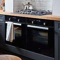 Plaque de cuisson au gaz Cooke & Lewis CLGOGFSRP5, 5 foyers
