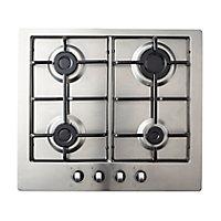 Plaque de cuisson au gaz GASFSRP4, 4 foyers