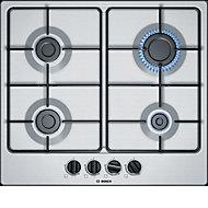Plaque de cuisson au gaz inox 60 cm Bosch PGP6B5B80
